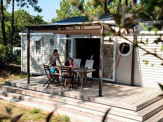 Camping Le Domaine des Pins**** - Mobil-Home 4 Pieces 6 Personnes Samedi/Samedi