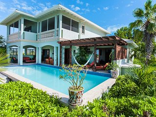 Pelican Nest-Cocoa - 4,000 sq./ft. -  300 ft. beach front on Grace Bay