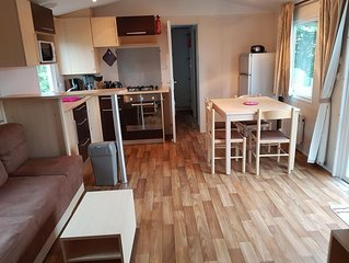 Location MOBILE HOME  6 PERSONNES