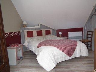 Chambre d'hôte dans longère bretonne entièrement restaurée