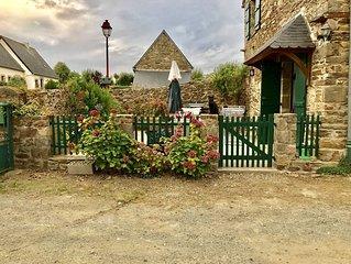 Maison a St Suliac, village classe parmi les plus beaux villages de France