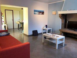 Appartement tout confort à Perros G, proche Trestraou et douaniers