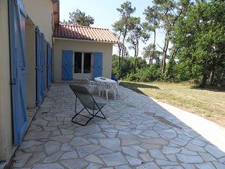 Maison 130 m² au calme  3km plages
