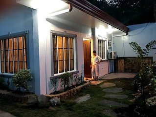 2 aircons fully furnished house, ideal for family on vacations