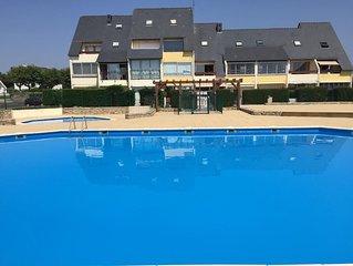 location de vacances DAMGAN face mer avec piscine