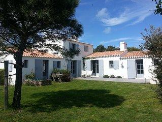 Plage de la Clère, jolie maison, Noirmoutier en l'île
