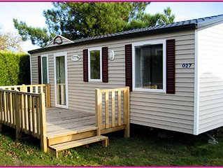 Camping Boutinardiere **** - Mobil Home 4 Pieces 6 personnes
