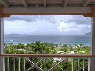 Exceptional design, spacious covered decks, super views, set in Long Bay Estate
