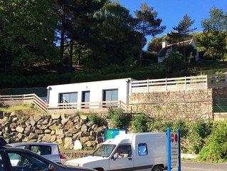 a Port Manech, villa d'une chambre situee directement sur le Port