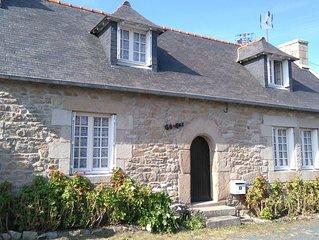 Maison de pecheur a l'Ile Grande(Pleumeur Bodou) proche mer