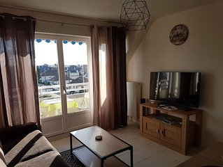 Appartement 3* à 200m PLAGE & THALASSO – WIFI - VELOS