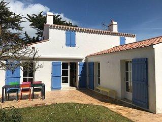Maison familiale proche de la plage des Sableaux et du centre de Noirmoutier
