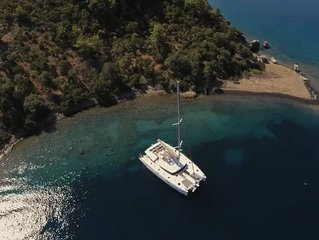 All-Inclusive Sail Vacation for up to 12 - Fountaine Pajot Ipanema 58 Catamaran