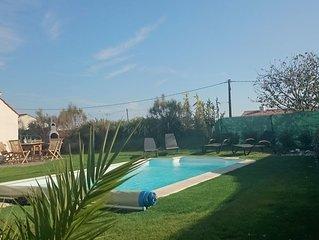 Coup de Coeur, Villa vendeenne 3 ch. 100m2 pres d'un vieux moulin avec piscine