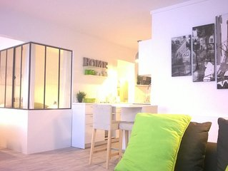 Modern & Cosy apartement in a very quiet residence with swimming pool and sauna