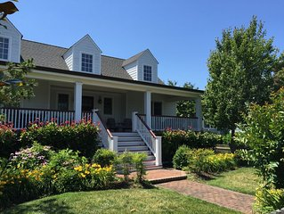 Great Family Vacation Home - Half block to BEACH!  Great Porches!