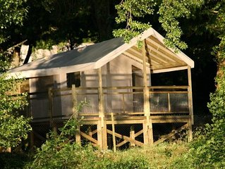 Camping Isle Verte**** - Ecolodge Luxe 3 pièces 4 personnes