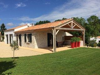 Maison avec piscine proche des grandes plages du Sud Vendée