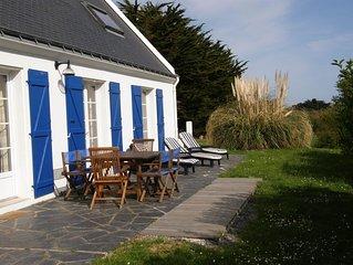 Maison indépendante exposée plein sud avec jardin clos sur la commune de Bangor