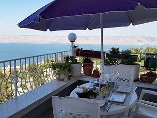 Amazing Sea of Galilee View Room