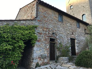 Completely renovated ancient villa and tower in the heart of Chianti, Tuscany!