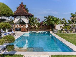 Élégante Villa 4 chambres et salles de bain vue sur les rizières