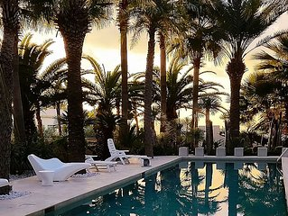 50% OFF WINTER RATES! Luxury Villa, Private Pool, Garden, Solarium with Sea View