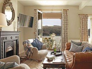 Beautiful Victorian Villa on Fowey Esplanade with Panoramic Estuary Views