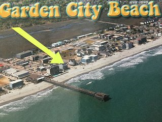 Luxury Beachfront at Garden City Beach Pier, SC (2 floor 2000 ft2)