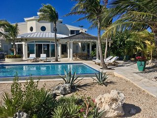 Twelve Palms Villa: A beautiful oceanfront home.