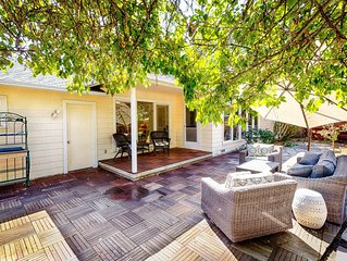 Updated & Sunny Sonoma 1950's Ranch – 2BR,2BA – Near Santa Rosa and Wineries