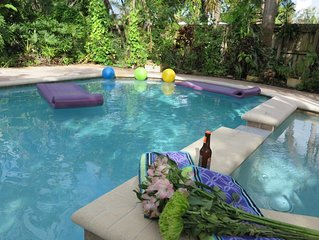 (GHH) Private Yard and pool, 3B/2B, Butterfly Garden