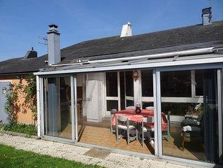 maison 3 chambres avec jardin et véranda situer dans le quartier Janval a Dieppe