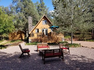 Cozy Cabin at Water Wheel Falls on the East Verde River - Comfy & Clean!