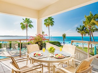 3 BED VILLA ON GRACE BAY BEACH! Right on Grace Bay beach and snorkelling reef