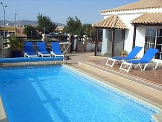Stunning Luxury Villa with Private Heated Pool and Games Room