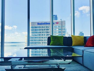 Amazing apartment Miami Brickell with spectacular views