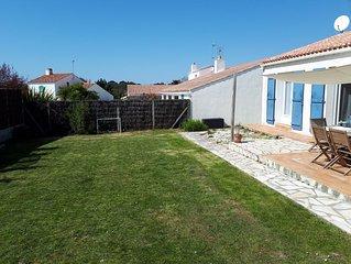 Maison de vacances aux Sables d'Olonne à 5 min à pied de la plage et au calme