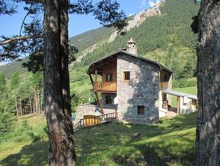 Chalet de montagne a louer a Valdeblore-Alpes Maritimes a 1h de Nice