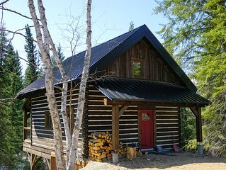 Log Dovetail Bison Cabin - Mountain Life Getaway!