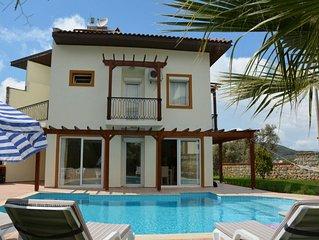Rental Villa Korkmaz in Fethiye Ovacik. 6 peole can stay in villa and suitable f