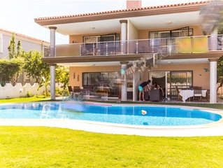 Twin Luxury Villa with Private Pool at Cesme. Rental luxury villa is duplex &amp