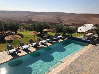Villa de Rêve aux Portes du Désert à Marrakech, pour vos événements : DAR FATINA