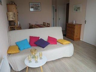 A 400m de la plage Royan-Pontaillac  appartement 2 pieces avec apercus sur mer