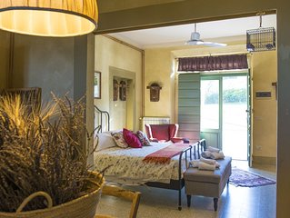 Studio Apartment in Tuscany Agriturismo with Pool