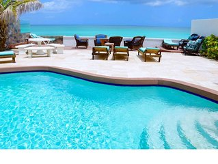 N HURRICANE DAMAGE: Oceanfront Luxury Home. Private Pool & Beach. Bahamas Centra