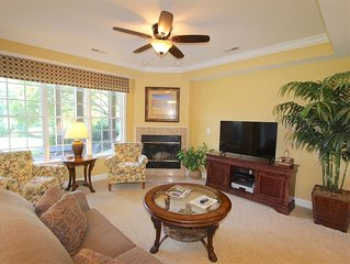 Beautiful 1- Bedroom Villa on the 5th & 6th holes at Pinehurst National No.9