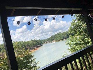 Enjoy Views of the Lake and Abundant Wildlife From Both Decks