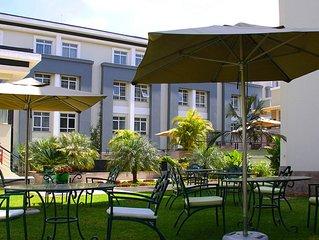 Enjoy Nairobi National Park and return to wonderful Superior Room to relax