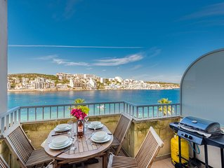 GetawaysMalta - Blue Harbour 3 Seafront Apartment in St. Paul's Bay